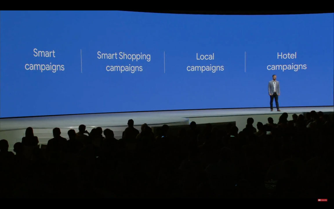 Google Marketing Live 2018: tutte le news presentate ed il mio punto di vista